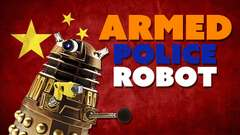 Armed Robot Police EXTERMINATE