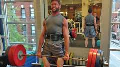 Hugh Jackman Deadlift