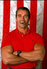 Arnold Schwarzenegger is King