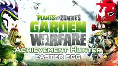 Plants vs. Zombies: Garden Warfare - Achievement Hunter Easter Egg