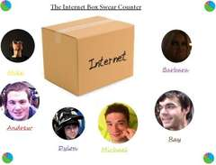 Internet Box Swear Counter