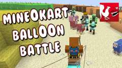 Minecraft - Mineokart Balloon Battle