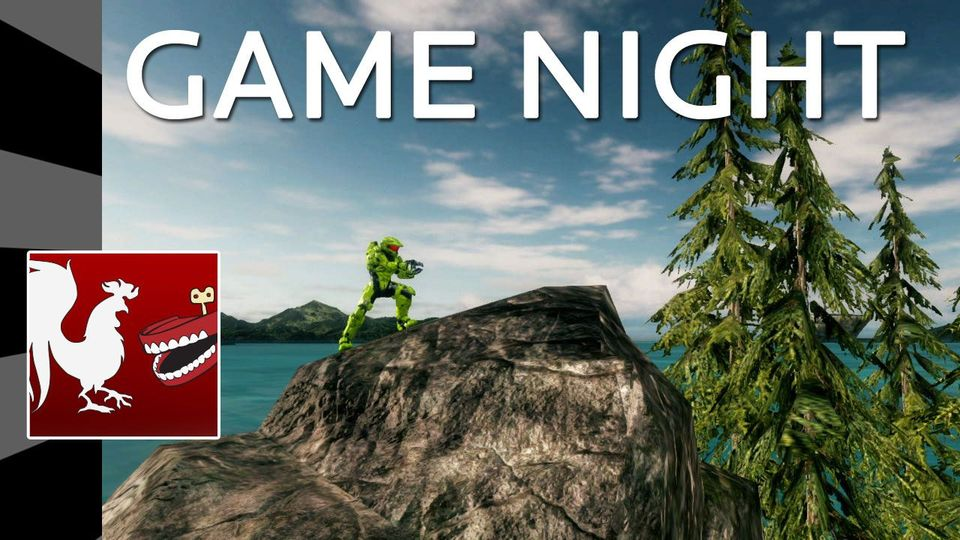 Game Night: Halo 4 - Slenderman