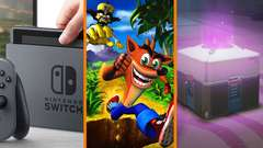 Switch on Jimmy Fallon + Crash Bandicoot Producer SLAMS Remasters + New Laws Against Loot Boxes