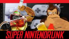 SUPER NINTENDRUNK - Drunk SNES Classic Gameplay
