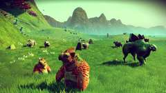 Creatures in No Man's Sky