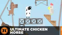 Let's Play - Ultimate Chicken Horse with Funhaus!