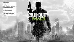FREE 1600 XBL POINTS MW3