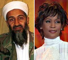 Bin Laden Loves Whitney Houston