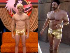 Burnie vs. Blaine Golden Speedo