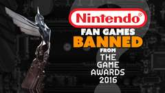 Nintendo Fan Games BANNED from The Game Awards?