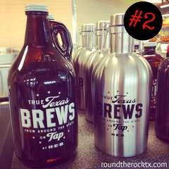 True Tx Brew Growler