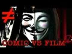 V for Vendetta Comic Differences