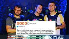 Laser Tag Yelp Review