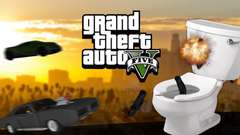 DOWN THE TOILET - GTA 5 Gameplay