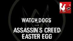 Watch Dogs - Assassin's Creed Easter Egg