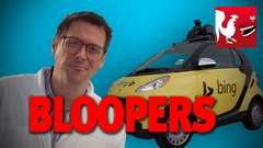 Self-Driving Bing Car Bloopers