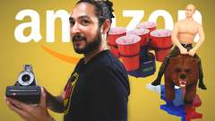 4 WEIRD THINGS ON AMAZON • AMAZON PRIME TIME