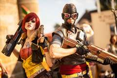 Borderlands Cel Shade Cosplay