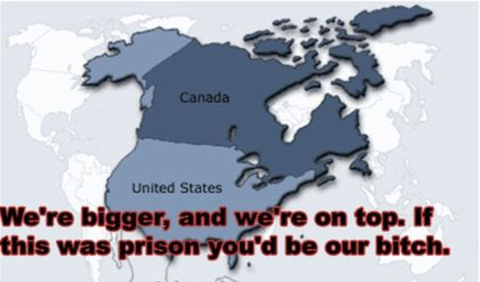 Winterpegs Profile - Map of us added to canada meme