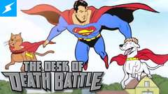 Super-Pets Need to Be Put to Sleep | Desk of DEATH BATTLE!