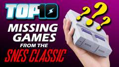 Games Missing from the SNES Classic