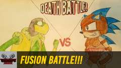 FUSION BATTLE!!! (Kermit VS Sonic)