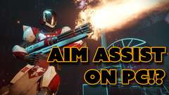 Destiny 2 PC Aim Assist Controversy