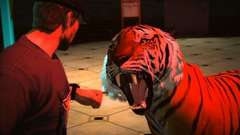 Jack Tames a Tiger in Dead Rising 2