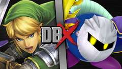 Link VS Meta Knight (Legend of Zelda VS Kirby)
