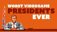 Worst Video Game Presidents EVER