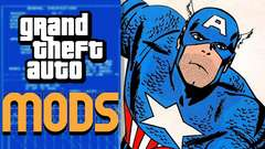 CAPTAIN AMERICA in GTA 5! - Mod Gameplay!