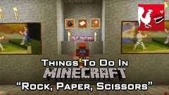 Minecraft - Rock, Paper, Scissors