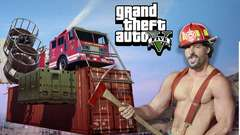 FLAMING FIREFIGHTERS - GTA 5 Gameplay