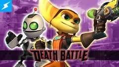 Ratchet & Clank lock and load for a DEATH BATTLE!