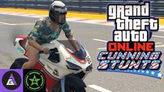 GTA Cunning Stunts with Achievement Hunter