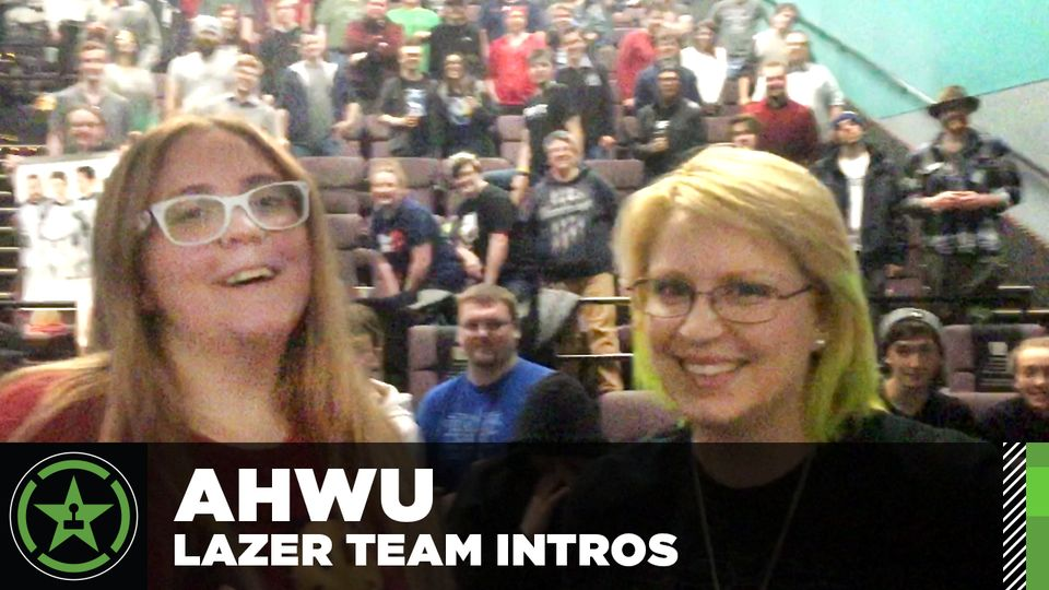 Lazer Team Screening Intros For AHWU 303