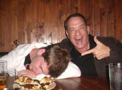 Tom Hanks Drunk Selfie