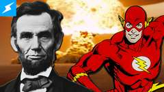 The Flash + Abe Lincoln + Nuclear Explosions = Comics | Desk of DEATH BATTLE