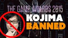 Kojima Banned from VGAs