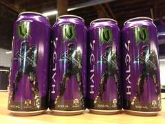 Halo 4 Energy Drinks