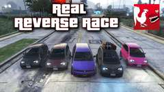 GTA V - Real Reverse Race