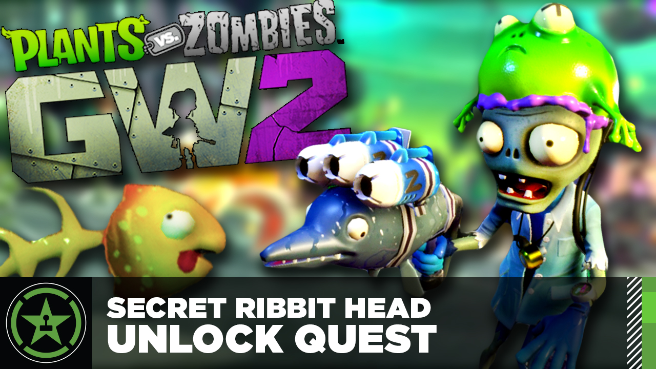 Plants vs Zombies Garden Warfare 2 Secret Ribbit Head Unlock Quest