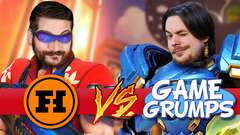 FUNHAUS VS GAME GRUMPS: VENGEANCE - Overwatch Gameplay