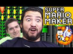 LAVA FISH FUMBLES - SUPER MARIO MAKER