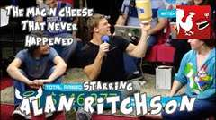 Alan Ritchson and the Mac N Cheese