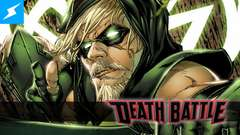 Green Arrow draws his bow for a DEATH BATTLE!