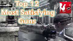 Top 12 Most Satisfying Guns in Video Games