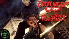 Friday the 13th: The Game - All Jason Weapon Executions