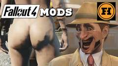 NUDE in FALLOUT 4! Mod Gameplay!